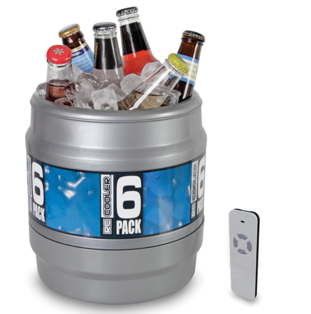 Remote-Controlled Rolling Beverage Cooler