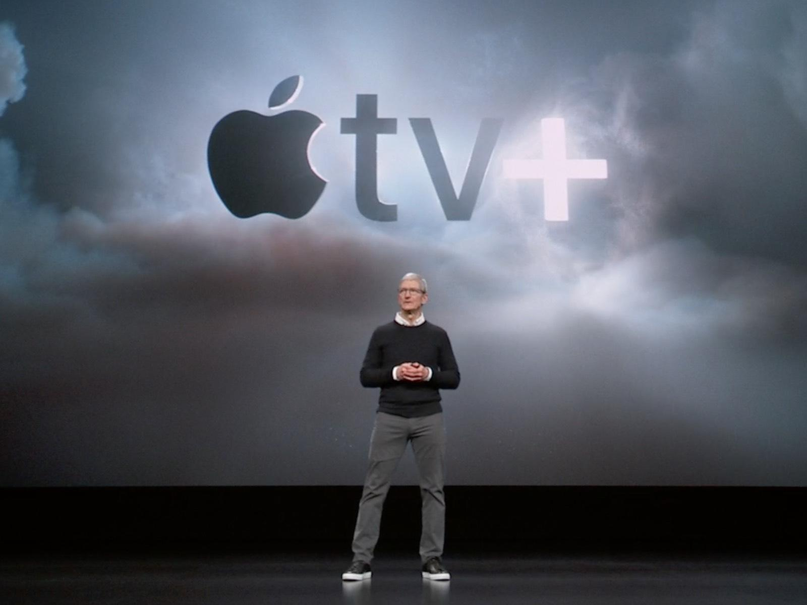 Tom Cook and Apple TV+