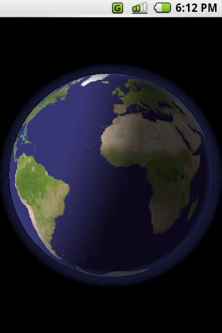 A sample Android application, AndroidGlobalTime