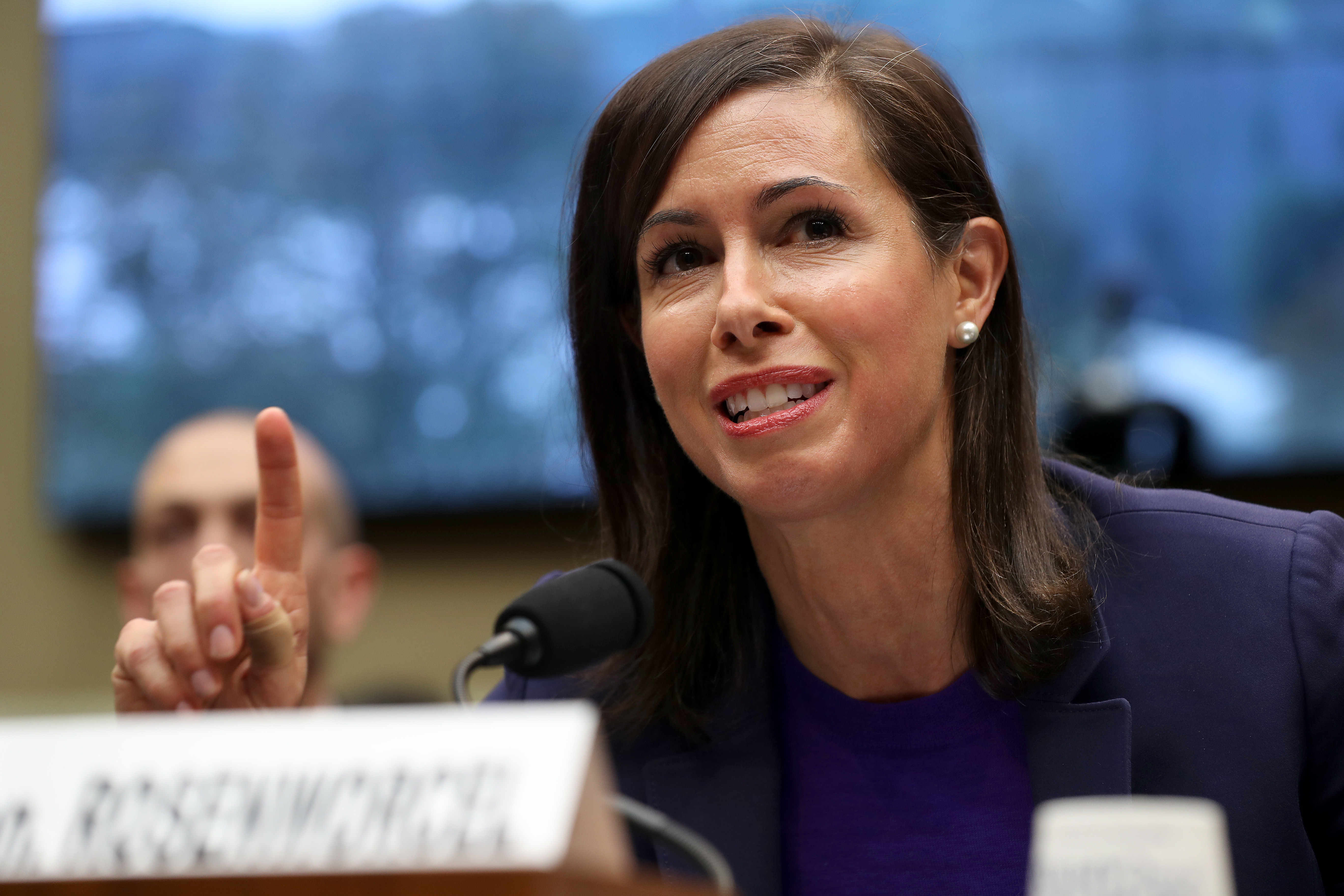Acting Federal Communication Commission Chair Jessica Rosenworcel