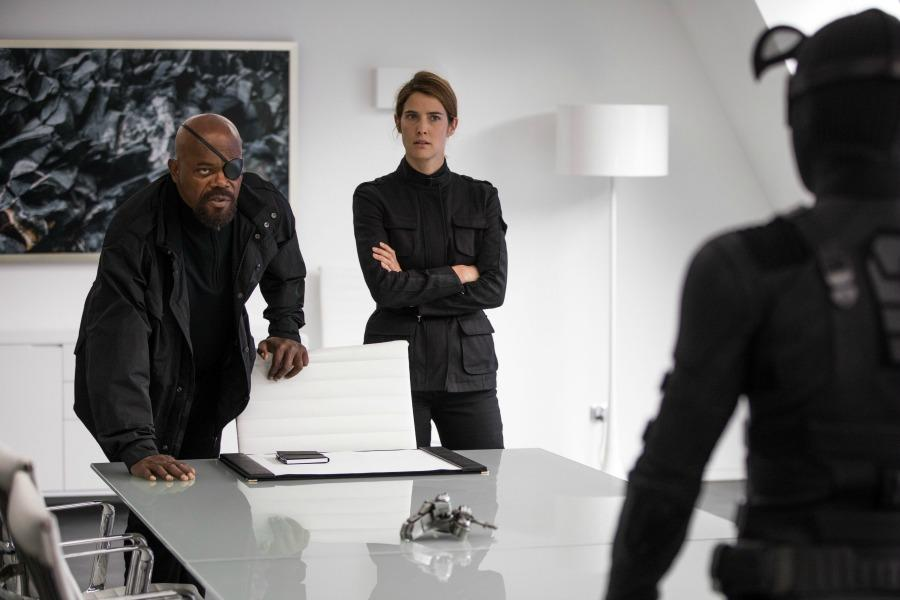 spiderman-far-from-home-nick-fury-maria-hill