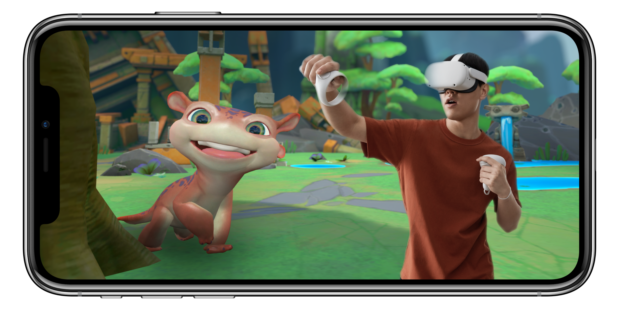 Oculus has another way to put yourself in the game.