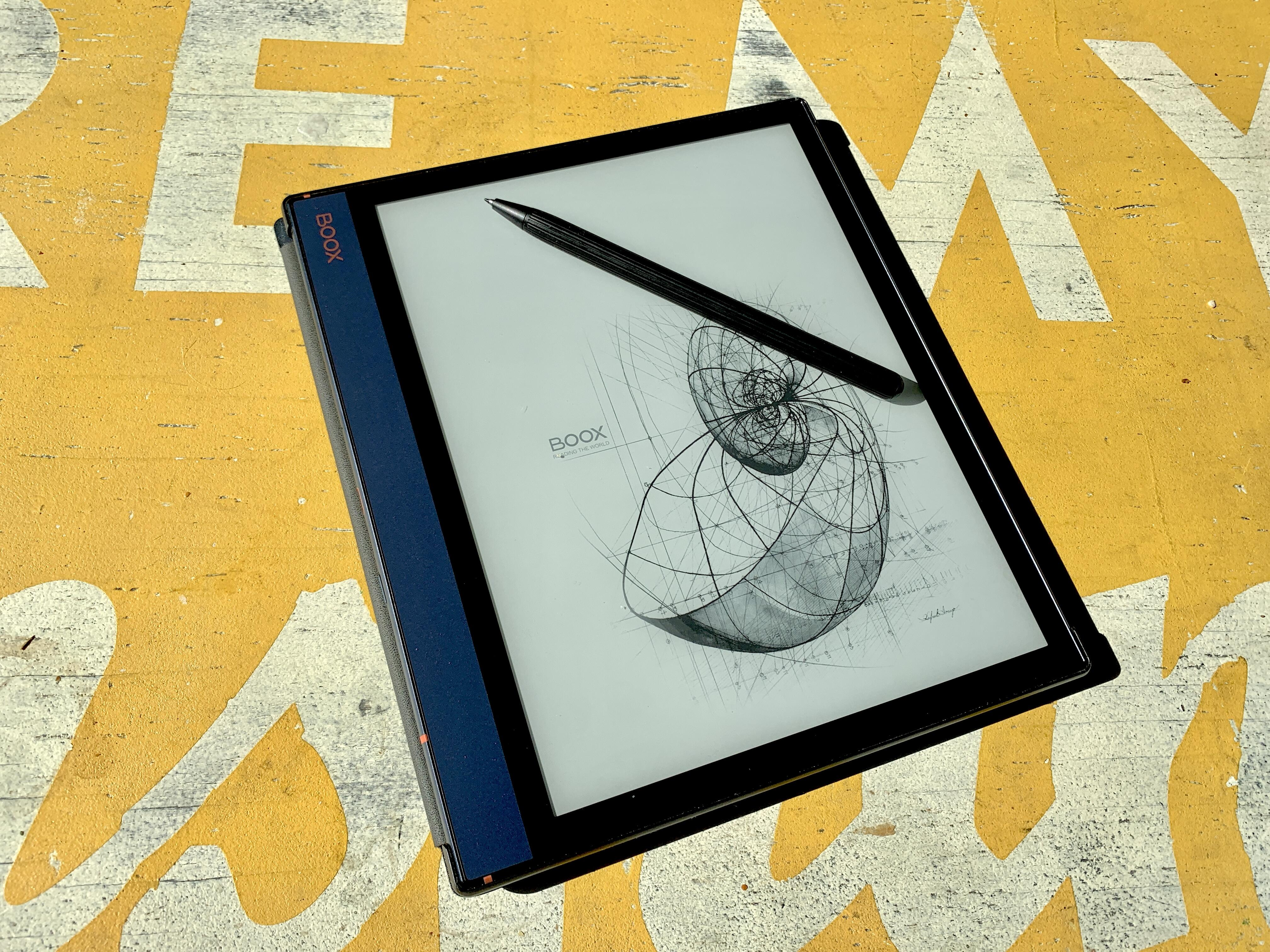 Why giant E Ink screens like the Boox Note Air's are my favorite underrated tech