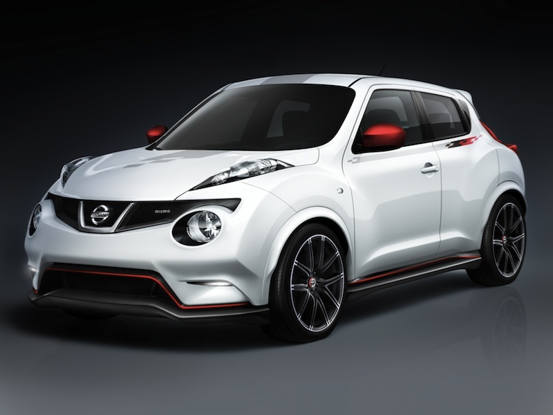 The Nissan Juke Nismo concept unveiled at the 2011 Tokyo Motor Show.