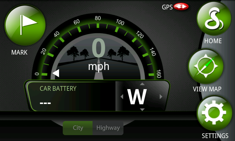Cobra's iRadar app for Android can be used as a standalone road hazard detector or paired with the iRadar detector hardware.