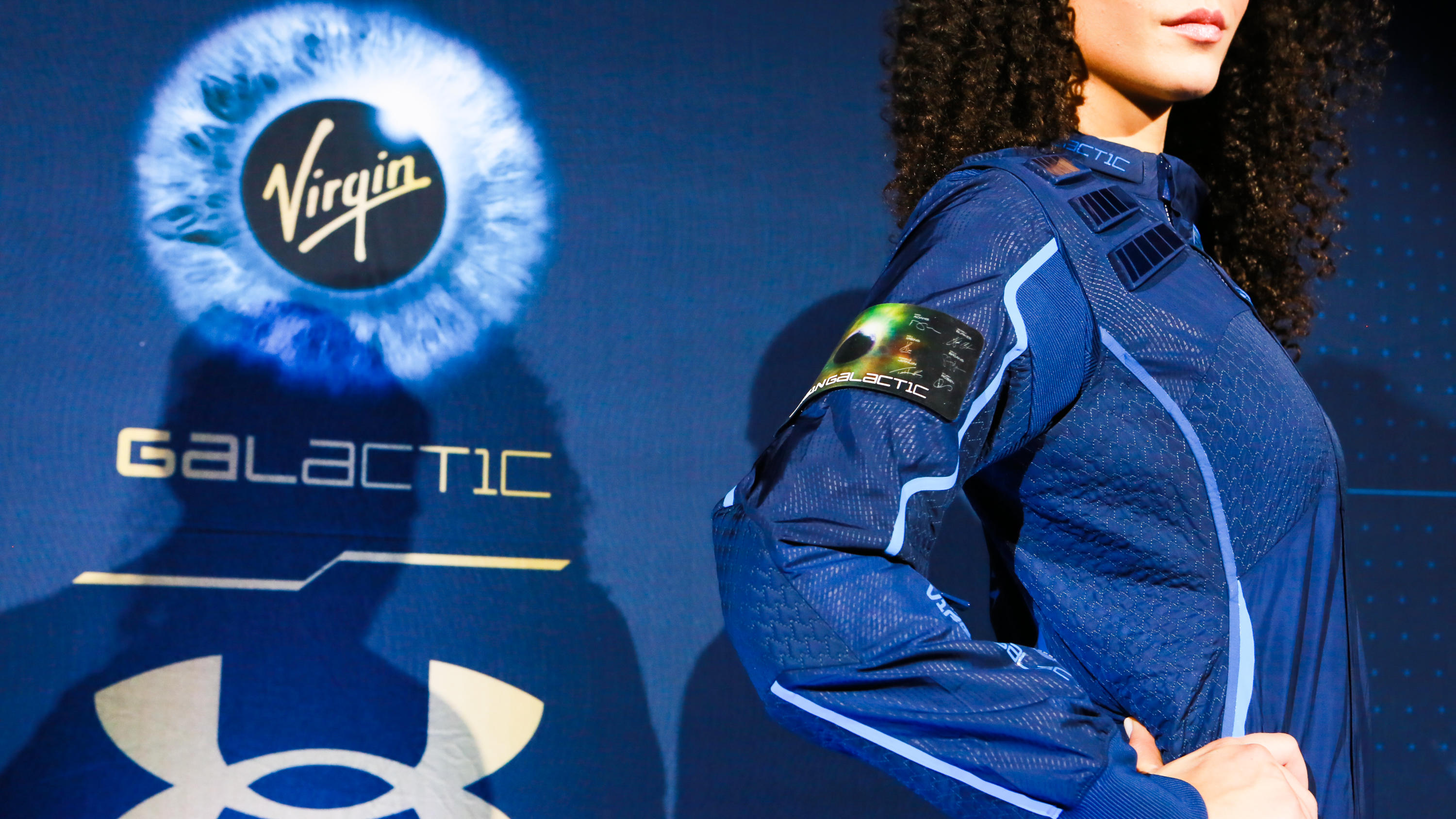 Virgin Galactic Under Armour commercial space flight suits announced