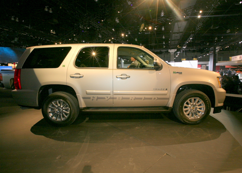 The Tahoe Hybrid is the biggest car to have won the award.