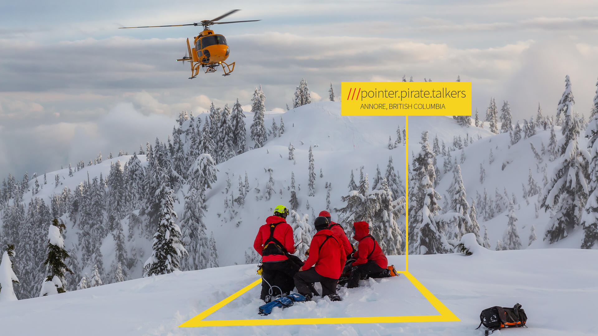 Several emergency responders in Canada are using What3words digital location to help people pinpoint their whereabouts when lost or injured. The company's app or website tells you a three-word label for every 10-foot square on the planet.