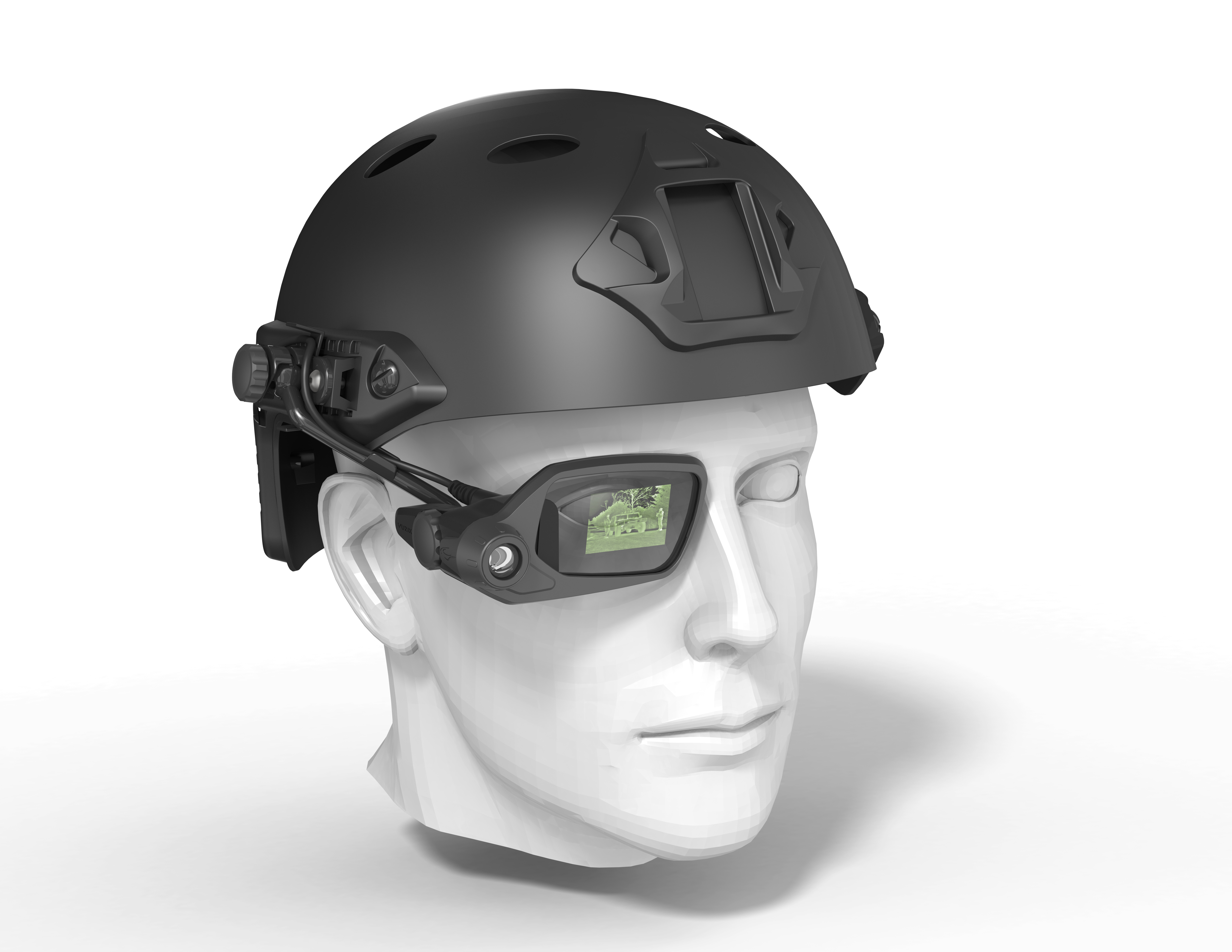 Vuzix envisions military applications for its video glasses, including night vision.