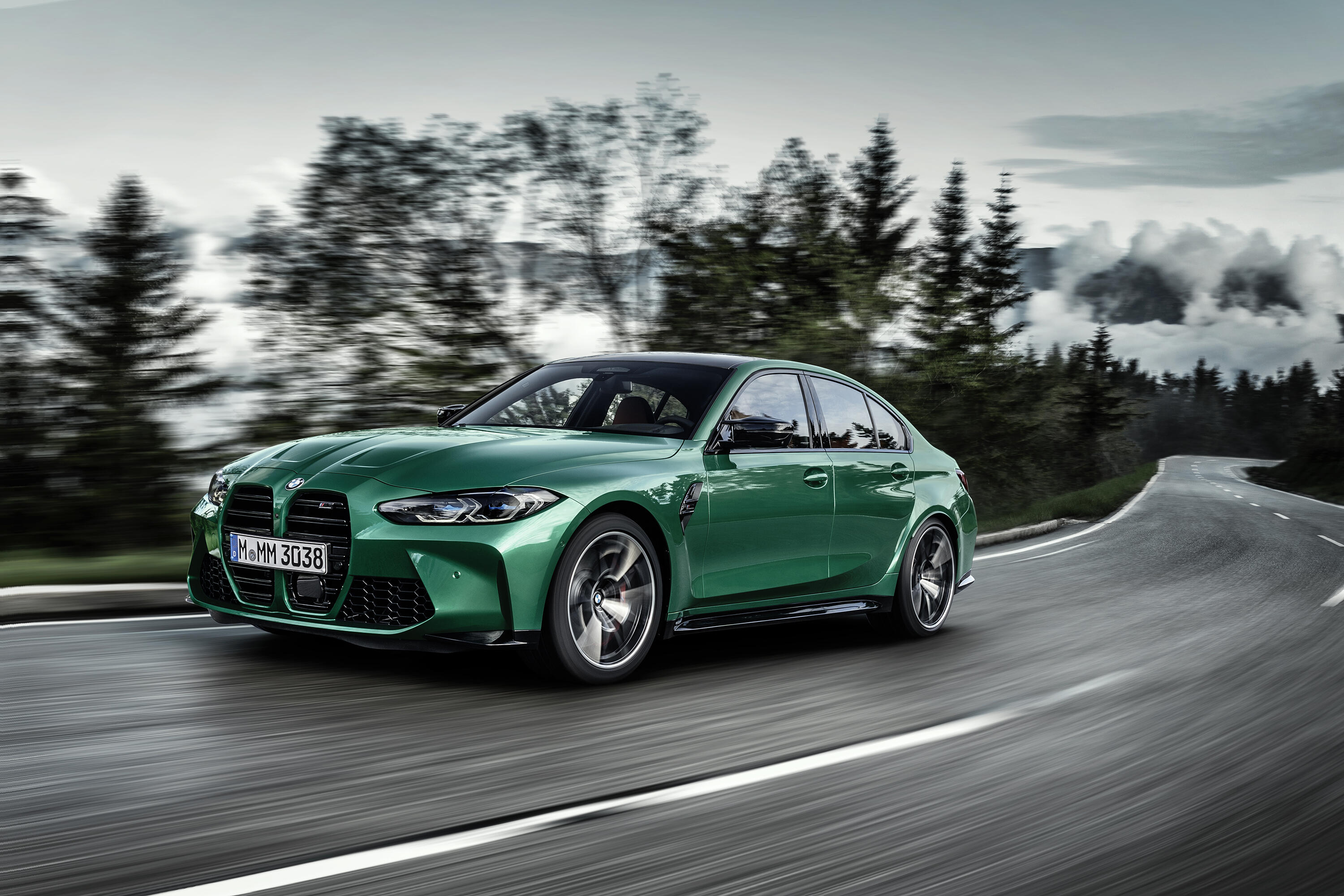 2021 Bmw M3 Revealed The Og Sport Sedan Returns With 473 Hp And A Controversial Face Roadshow