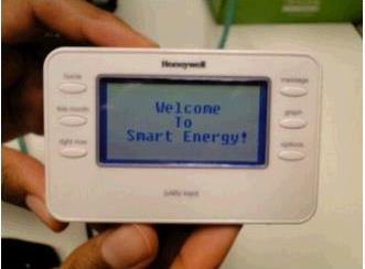 An in-home display used in CenterPoint Energy's smart-grid pilot program.