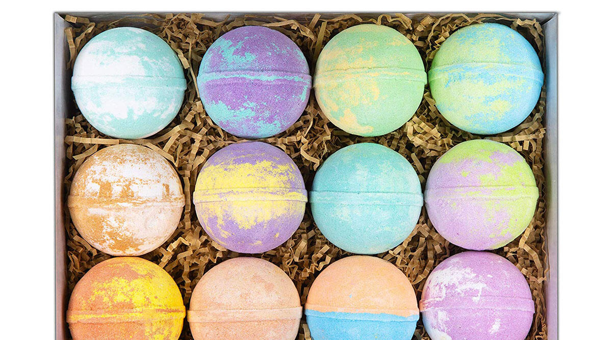 Enough bath bombs to last you for 12 days ($25)