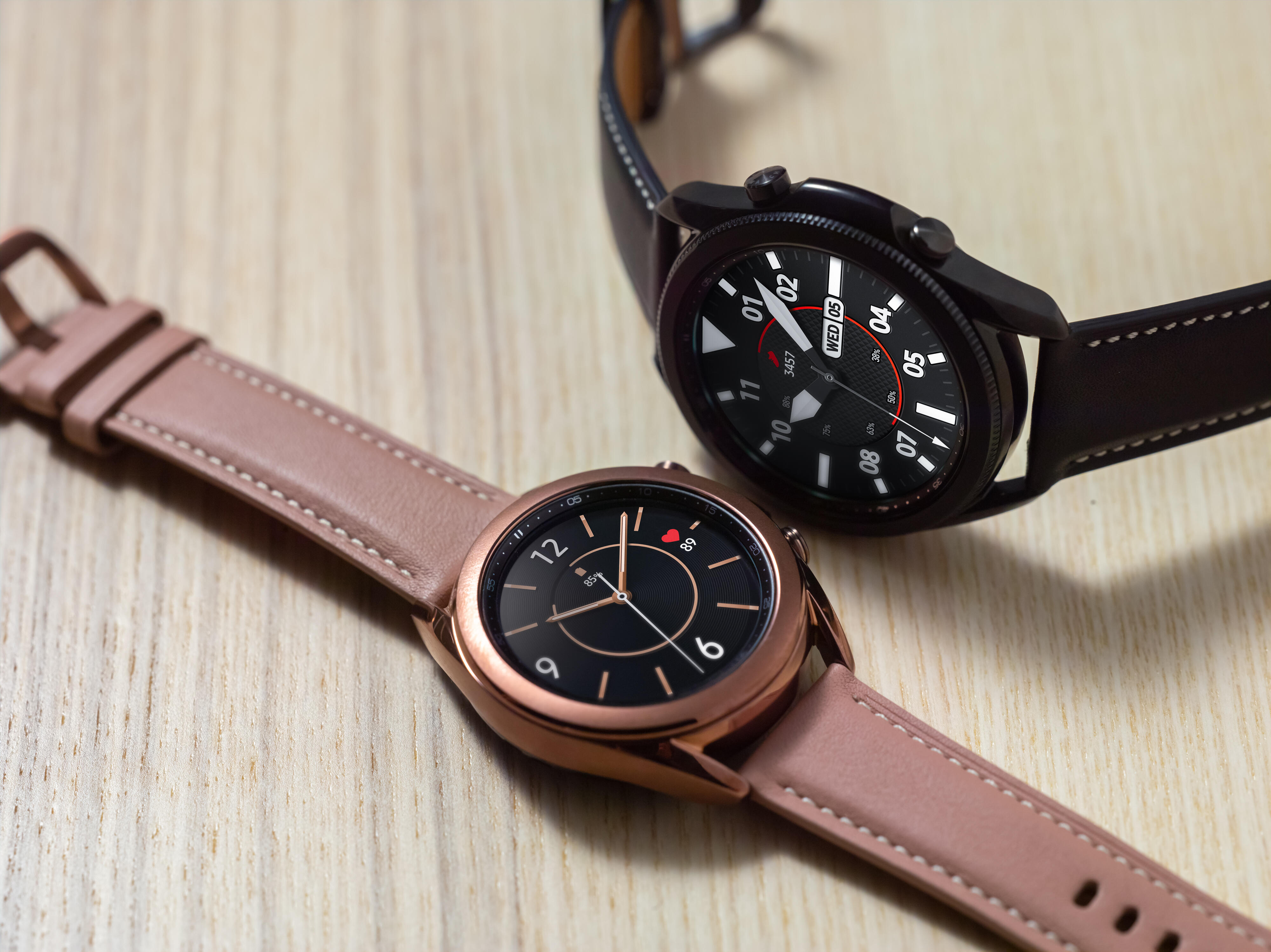 Galaxy Watch 3 vs. Apple Watch Series 5: Similar features, different execution
