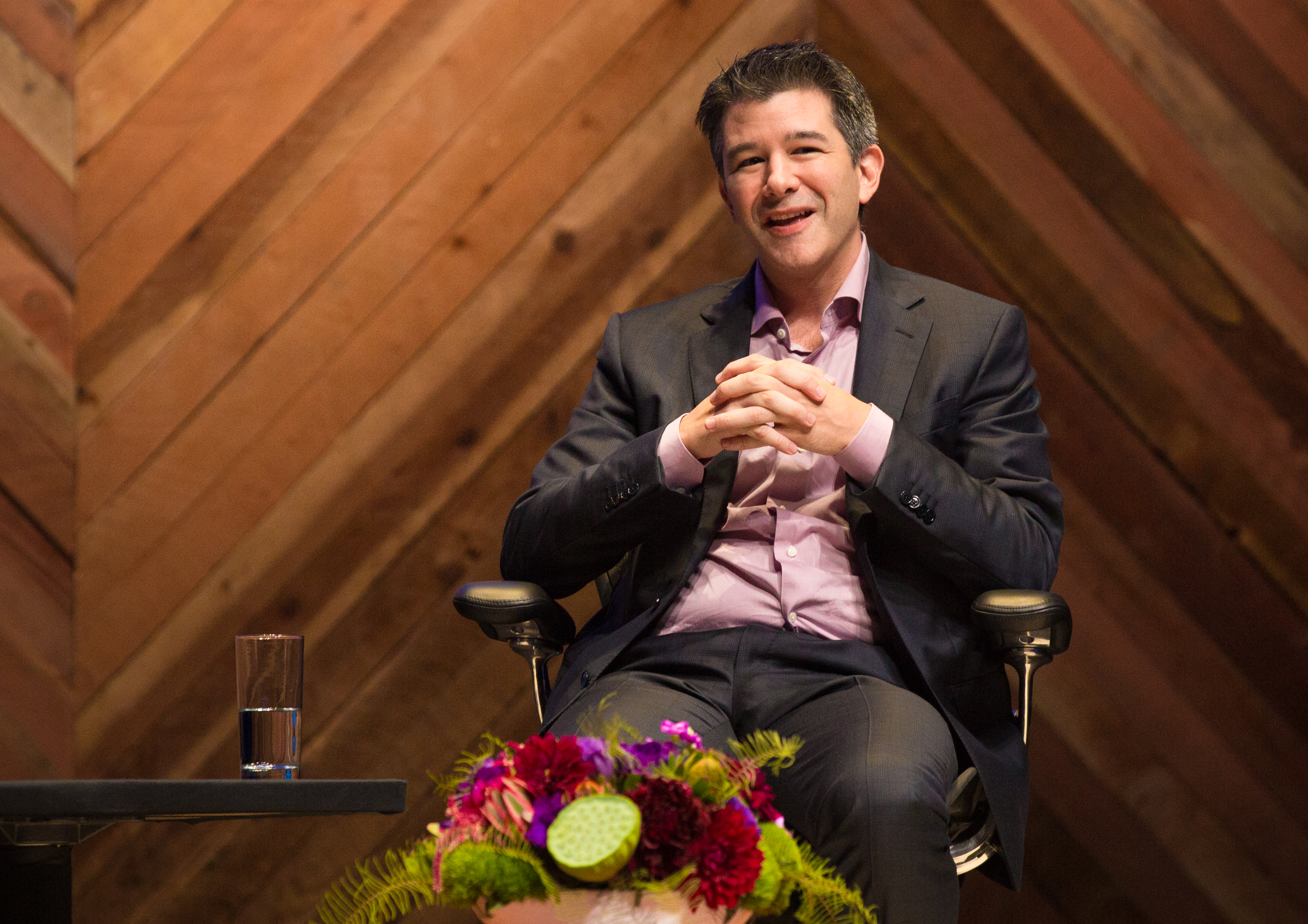Uber CEO Travis Kalanick. Unlike other big tech firms, the company has yet to reveal figures on staff diversity.