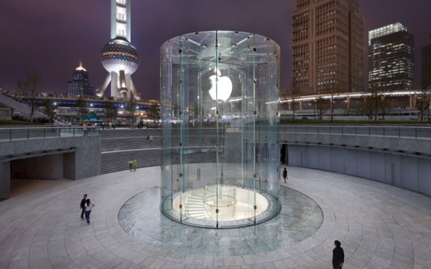 One of Apple's retail stores in China.
