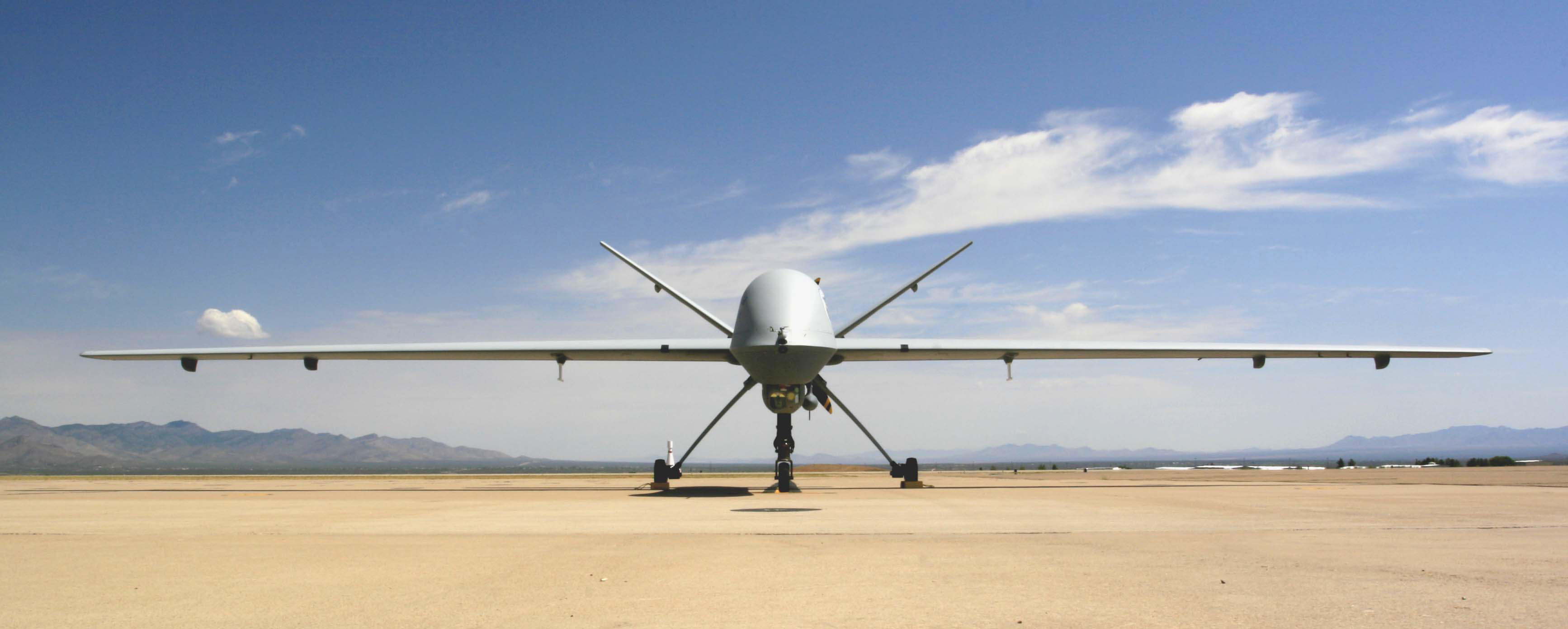 A Customs and Border Protection drone for patrolling the southern border of the United States.