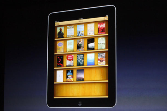 Photo of Apple iBooks app.