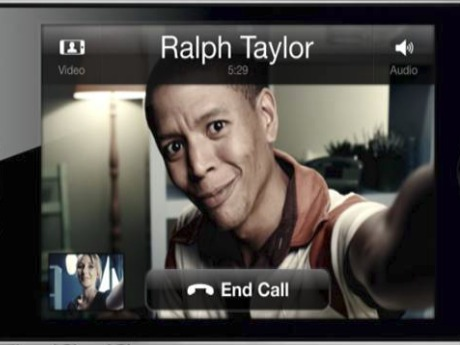 Skype two-way video calling