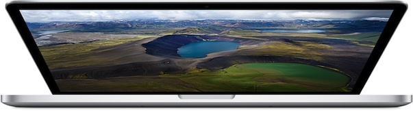 Apple's new high-end 15.4-inch MacBook Pro uses Intel's most powerful graphics chip yet, the Iris Pro with integrated 'Crystalwell' eDRAM.