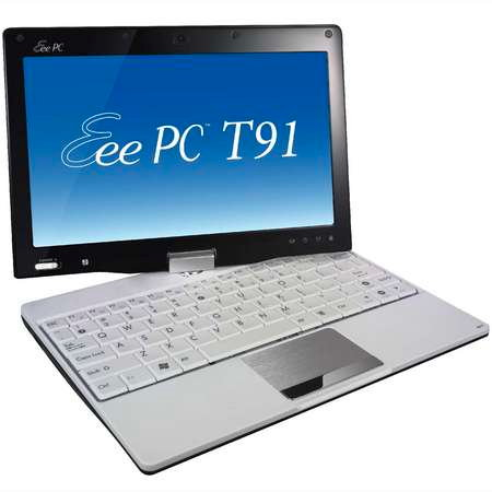 Asus's Eee PC T91 convertible tablet