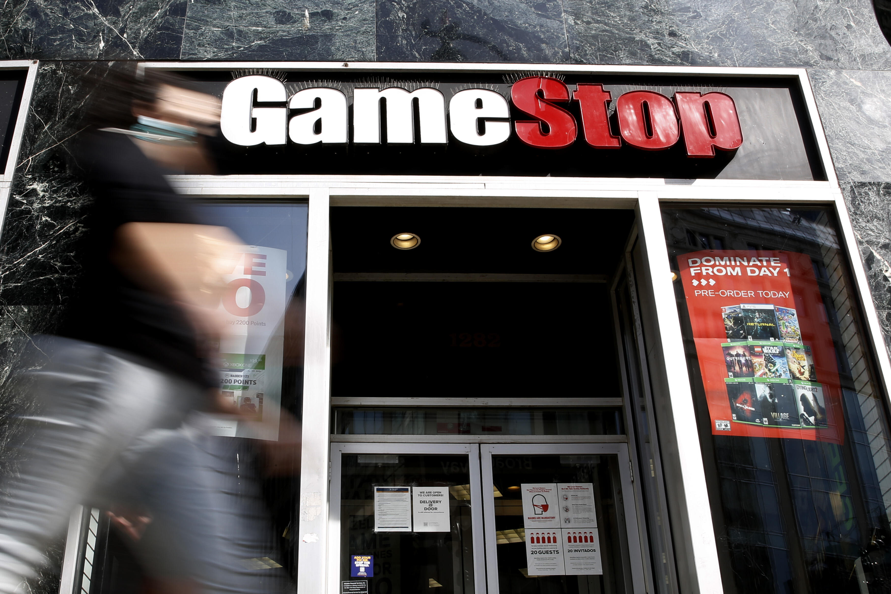 GameStop store on 6th Avenue in New York