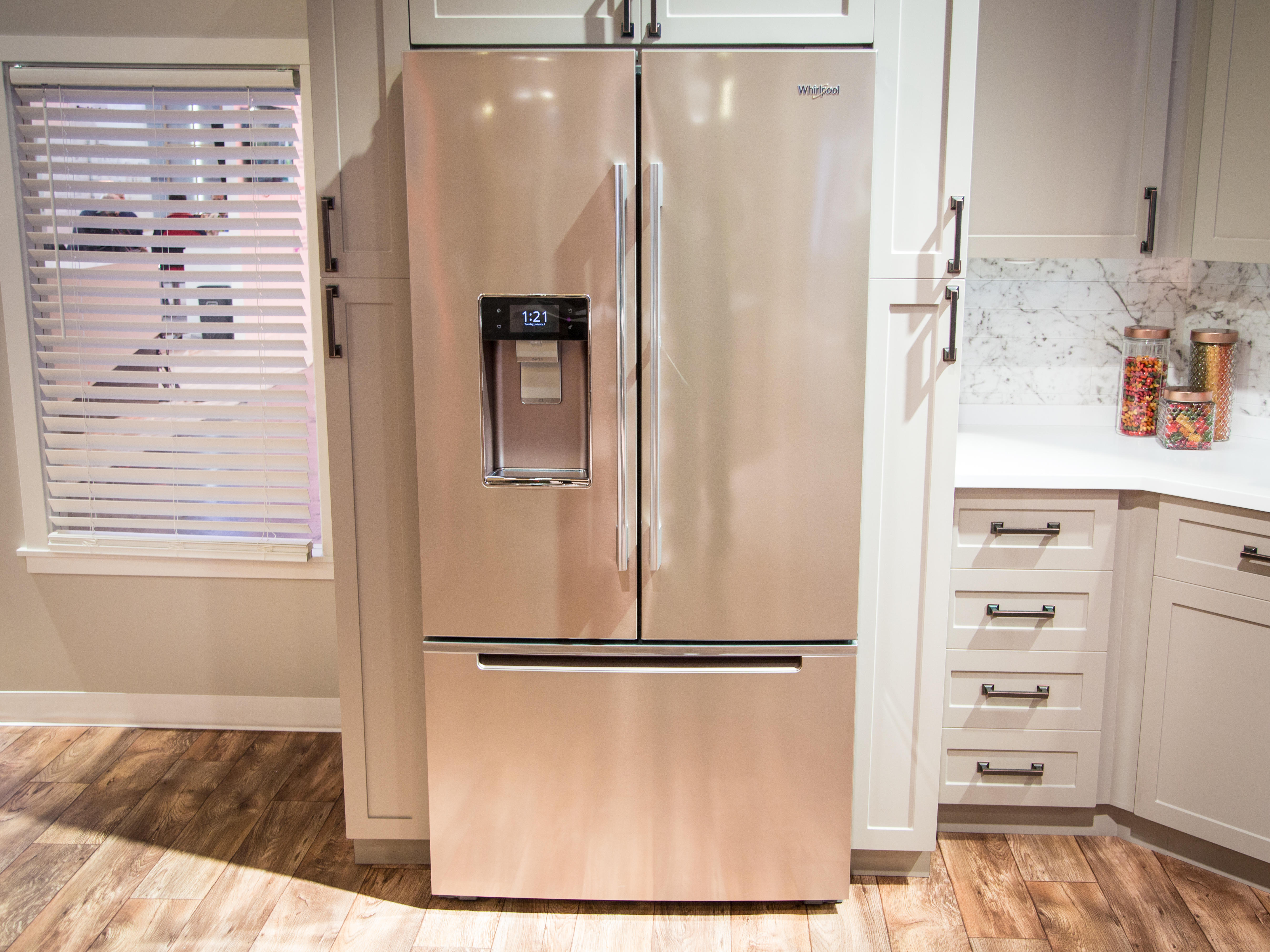 Here S How Whirlpool Could Convince You To Make Your Kitchen Smart Cnet