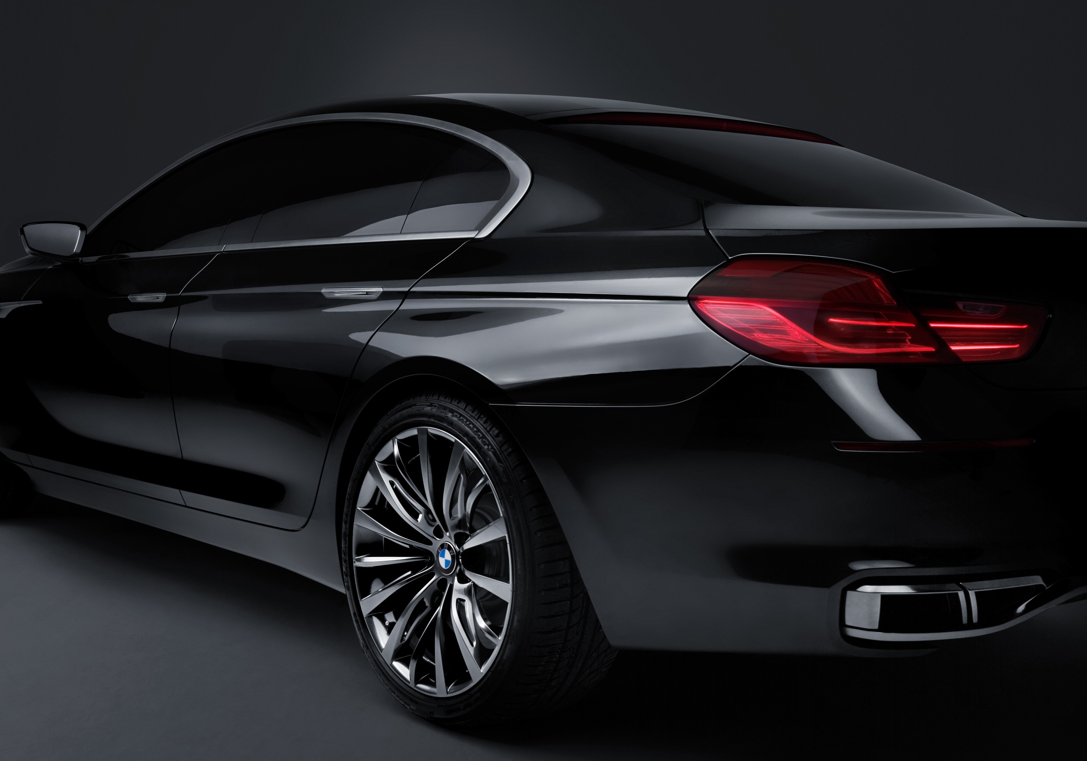 BMW Concept Gran Coupe will use the same powertrain as the 5, 6, and 7 series.