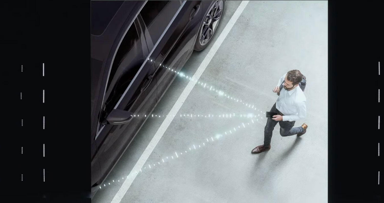 Samsung promises UWB technology for precisely tracking your location will automatically unlock car doors with digital keys in your smartphone.