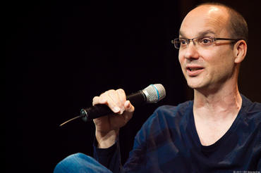 Andy Rubin, seen here during his time with Google, is back to work at his Essential company.