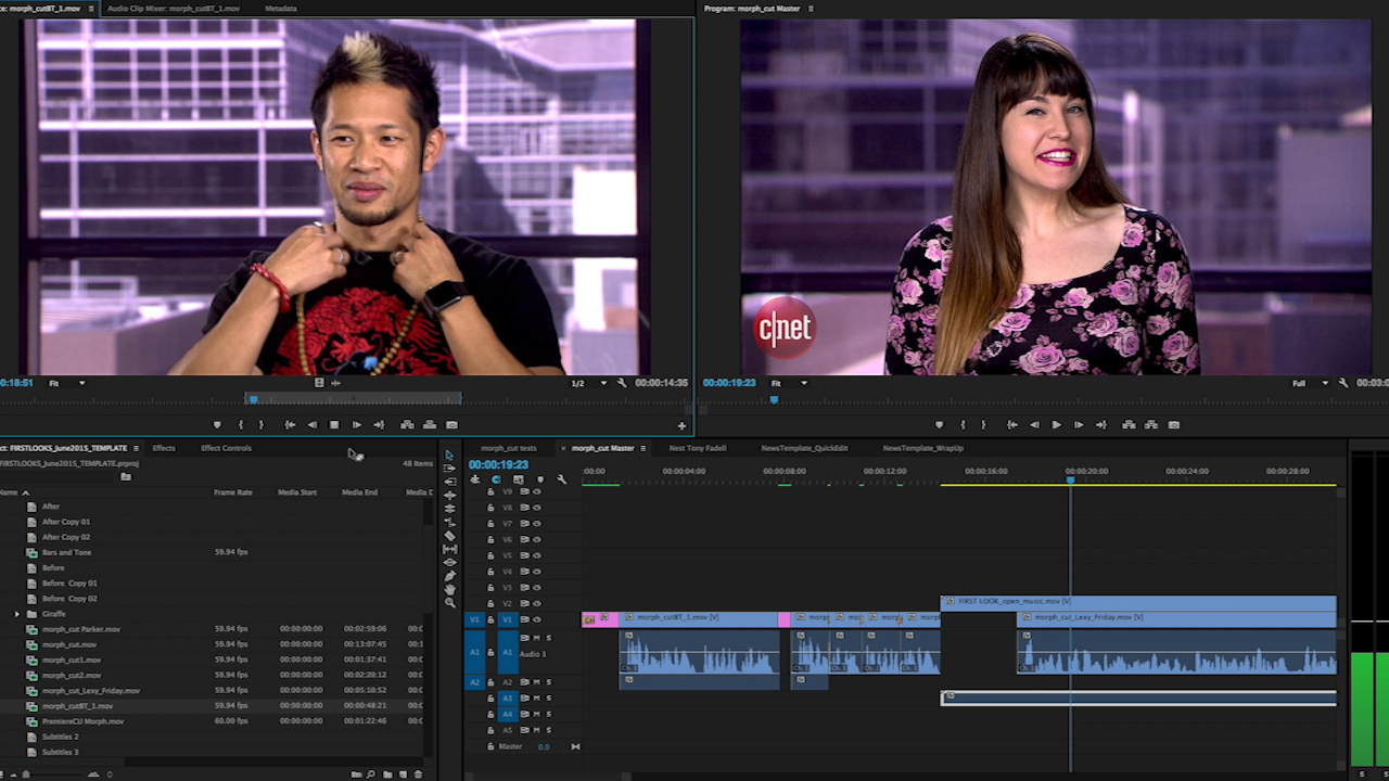 Video: Autotune your video transitions with Adobe Premiere's Morph Cut
