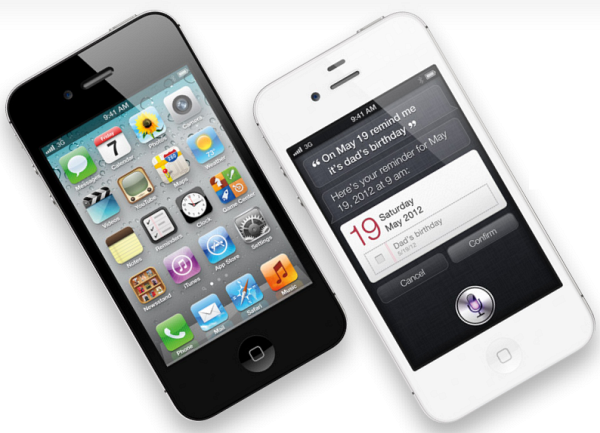 Apple's iPhone 4S, a 3G device.