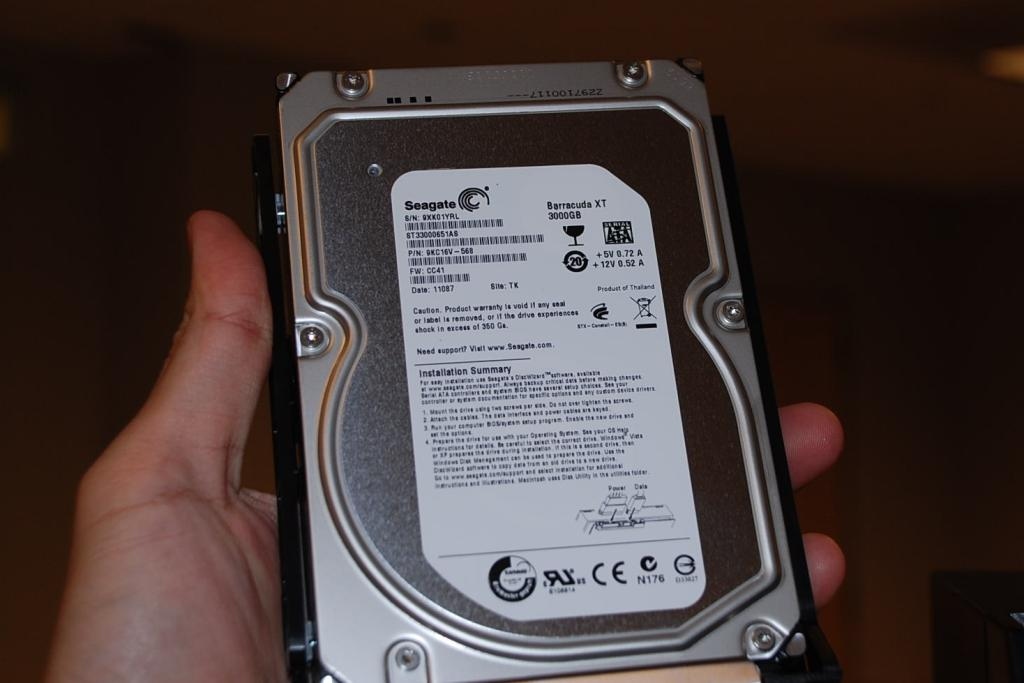 The new servers are preloaded with Seagate's highest-capacity internal hard drives, the 3TB Baracuda XT.