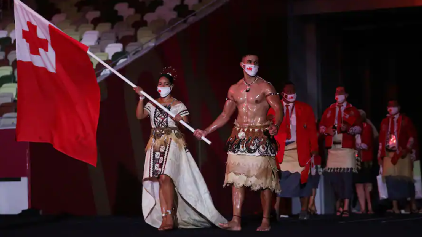 Olympic Games Opening Ceremony Memes: Tonga still not giving away a jersey