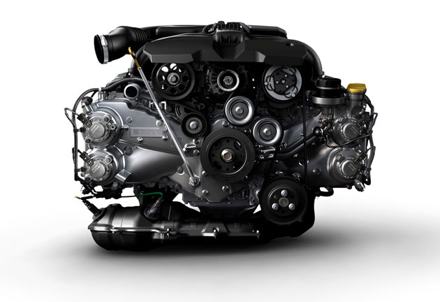 Fuji Heavy Industries has pulled the wraps off of the new-gen boxer engines.