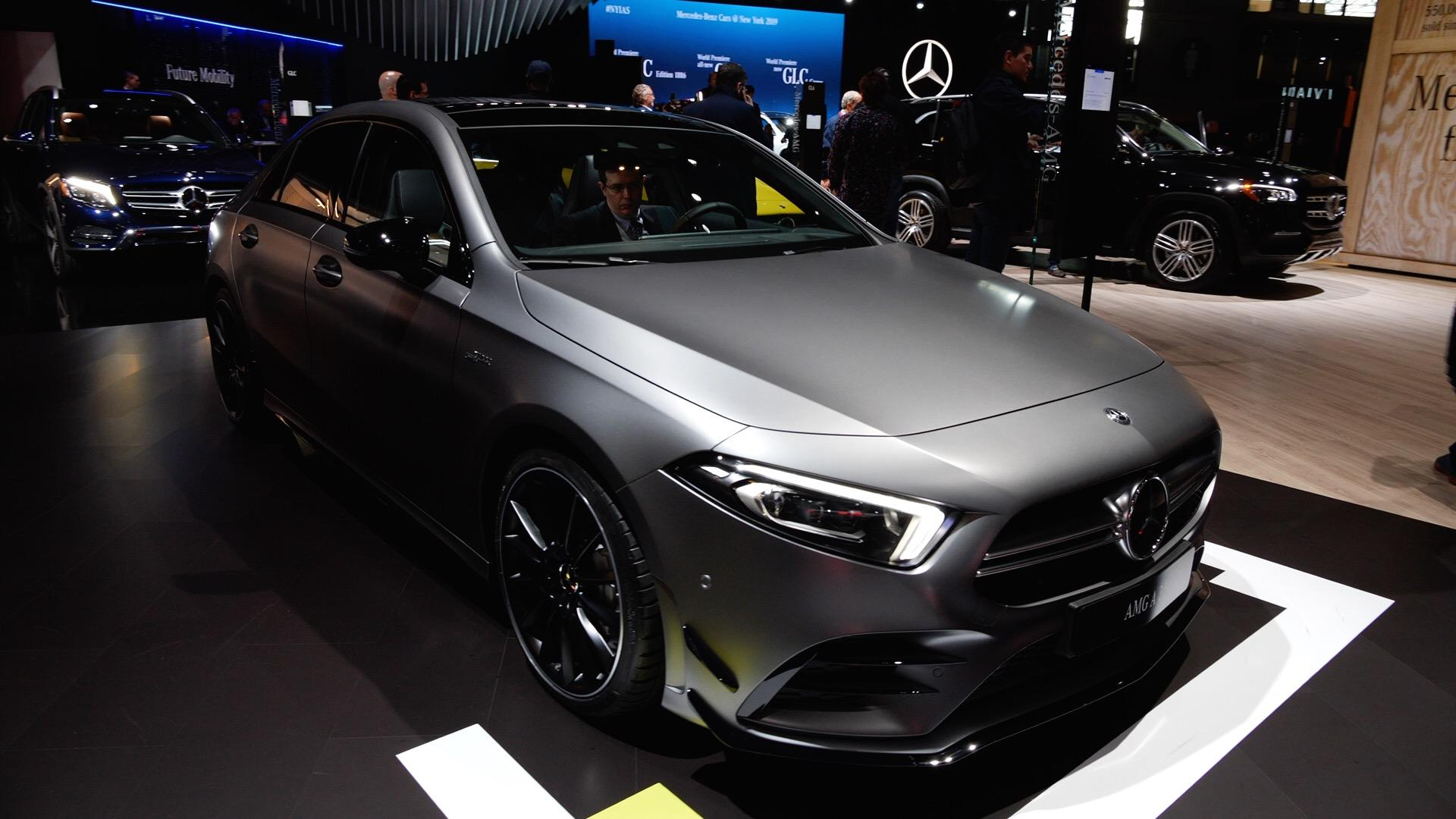 Video: 2020 Mercedes-AMG A35 is entry-level hotness