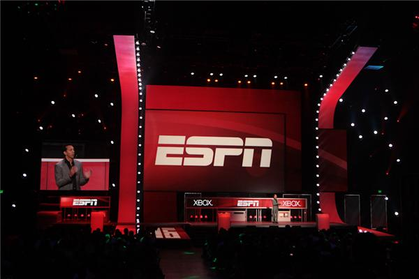 Microsoft is excited about its ESPN partnership on the Xbox.