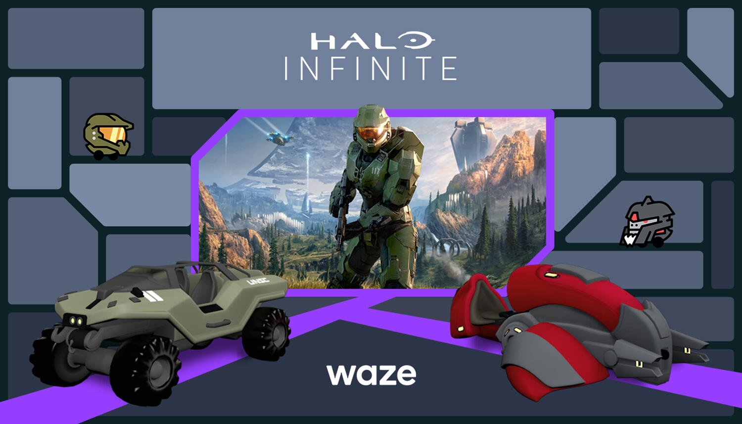 Waze launches Halo voice guidance, graphics to celebrate series' 20th anniversary     - Roadshow