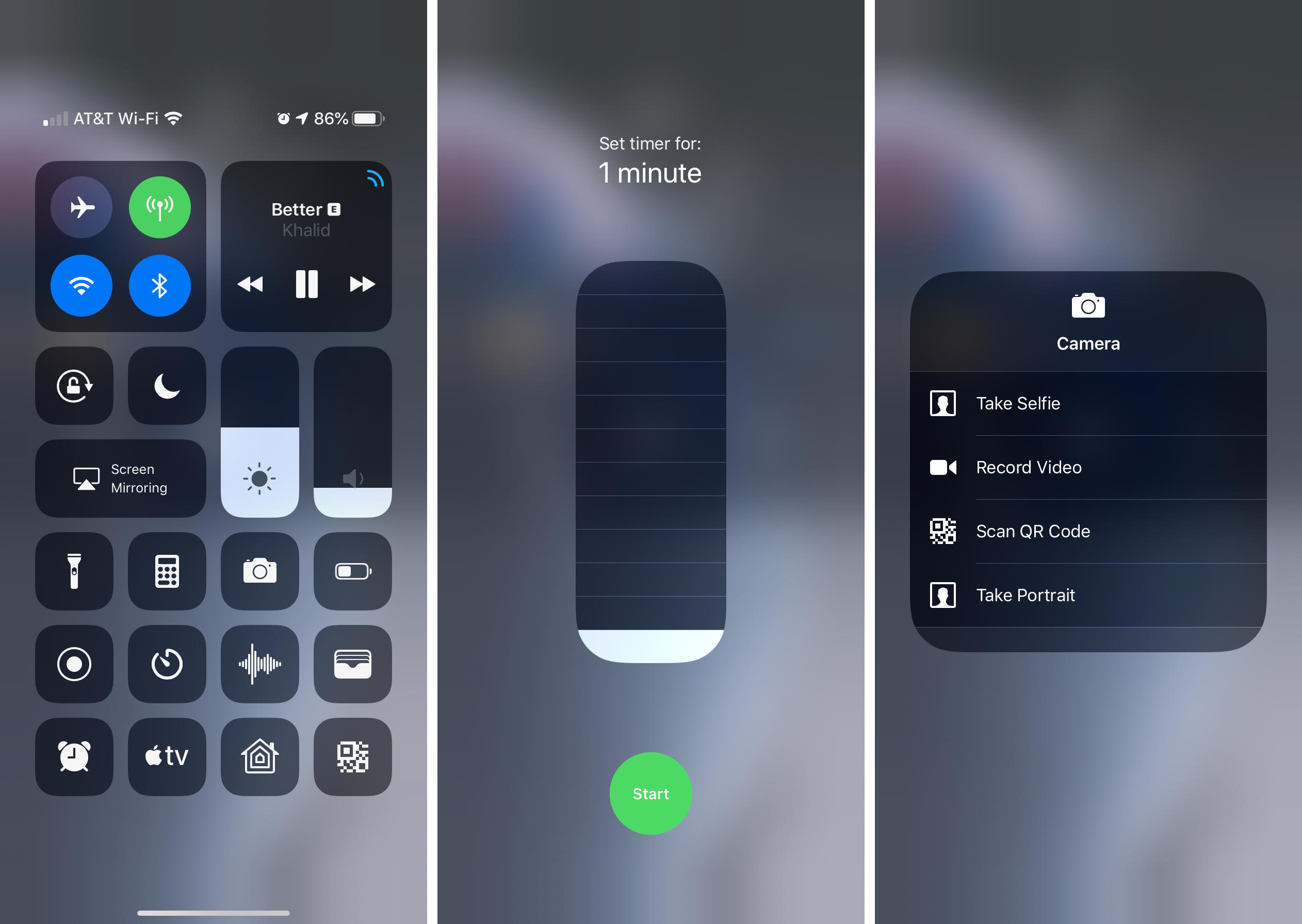iphone-xr-control-center-haptic-touch