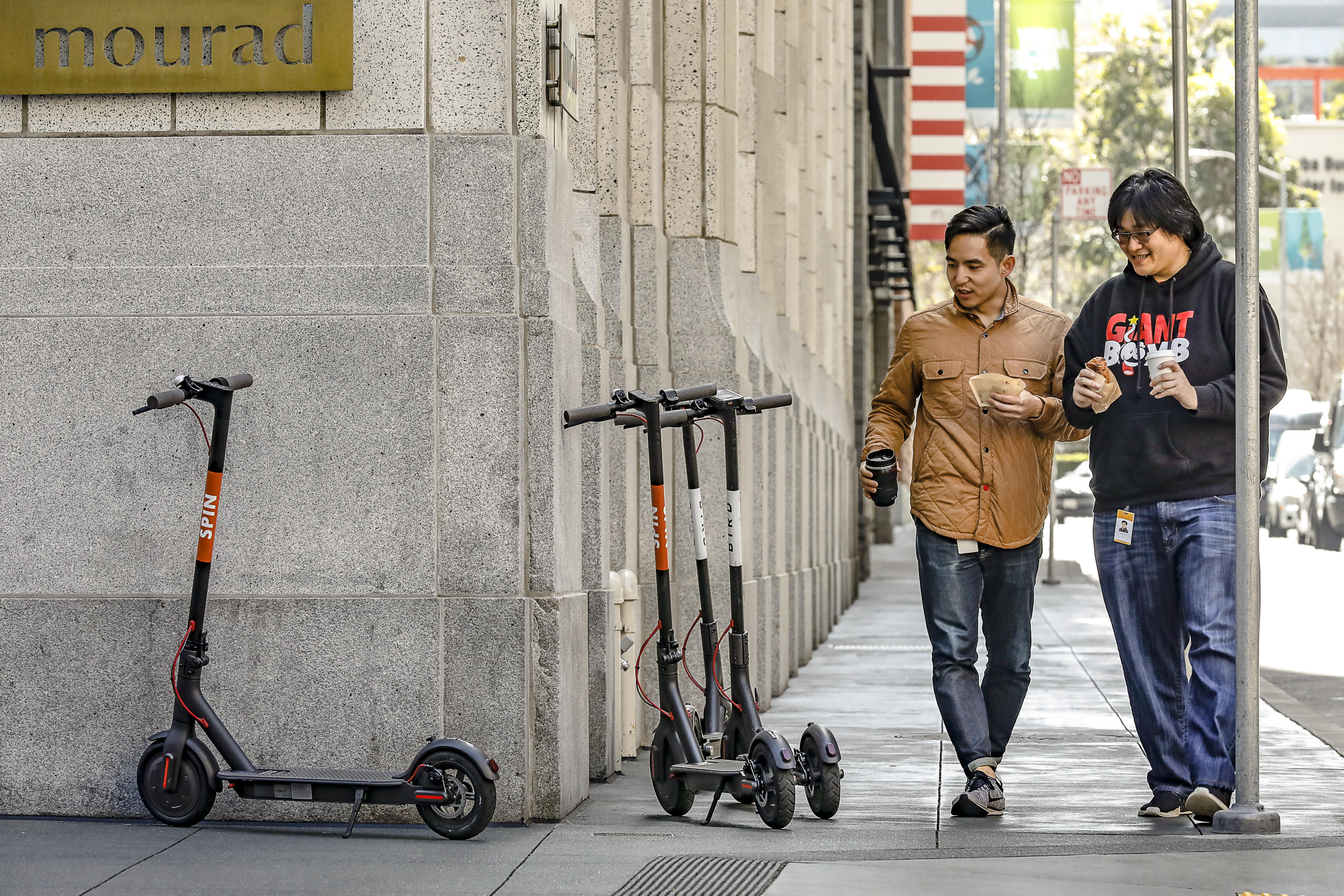 The scooter wars