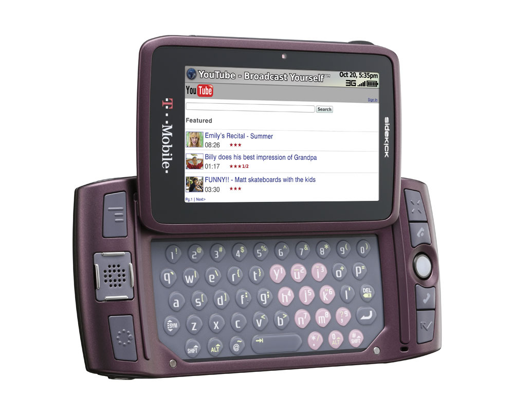 T-Mobile Sidekick LX (2009)