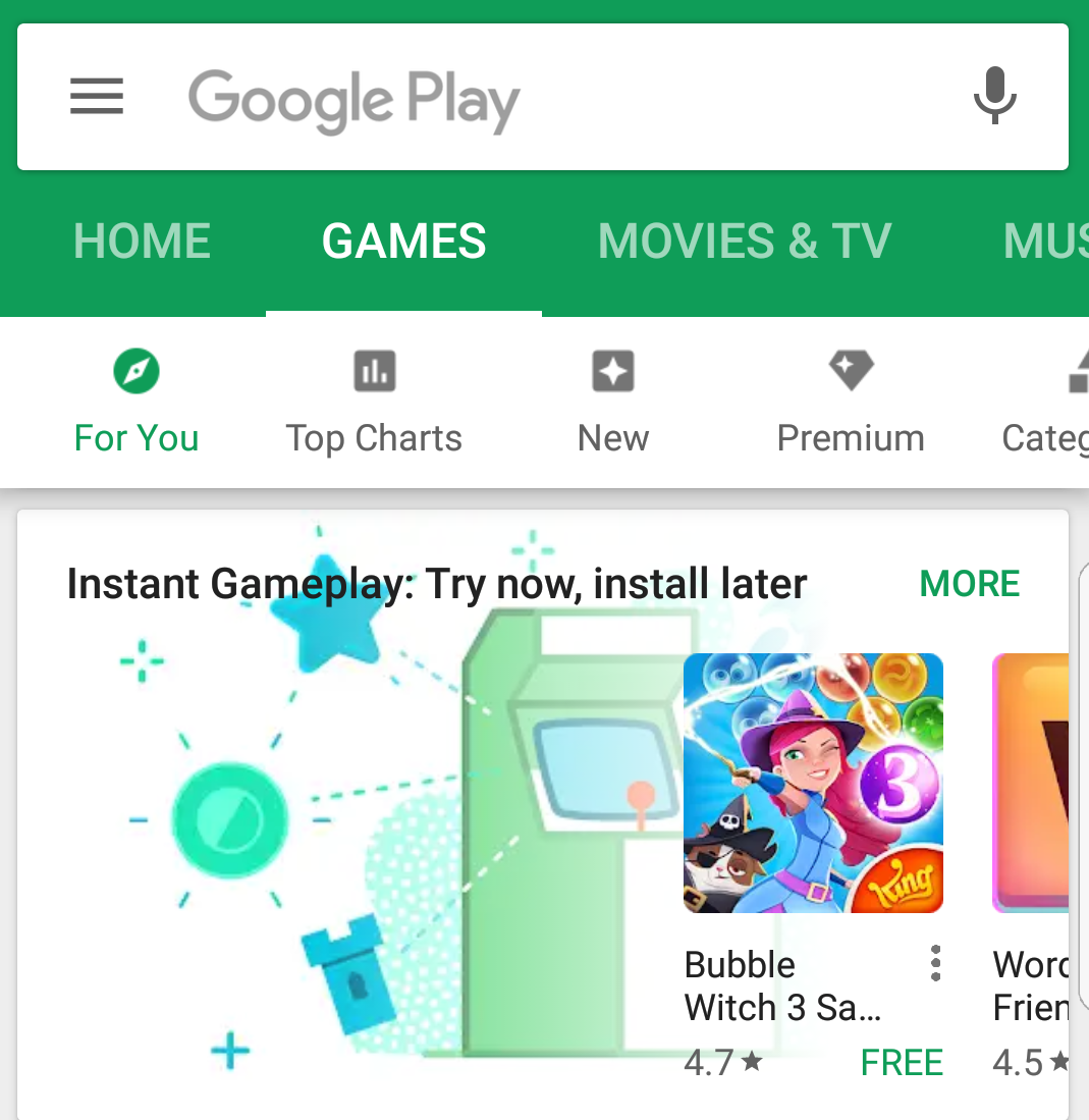 Google will let you play Android games before downloading them - CNET