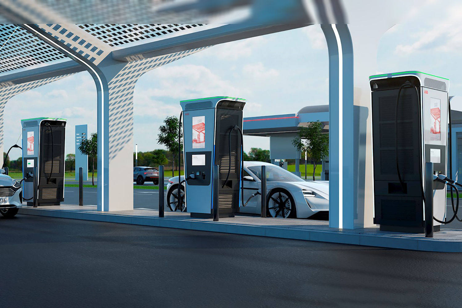 ABB 360 kW fast charger