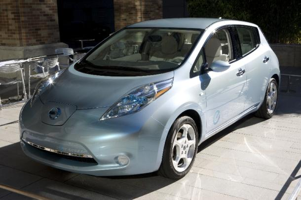 The Nissan Leaf is the focus of the EV Project.