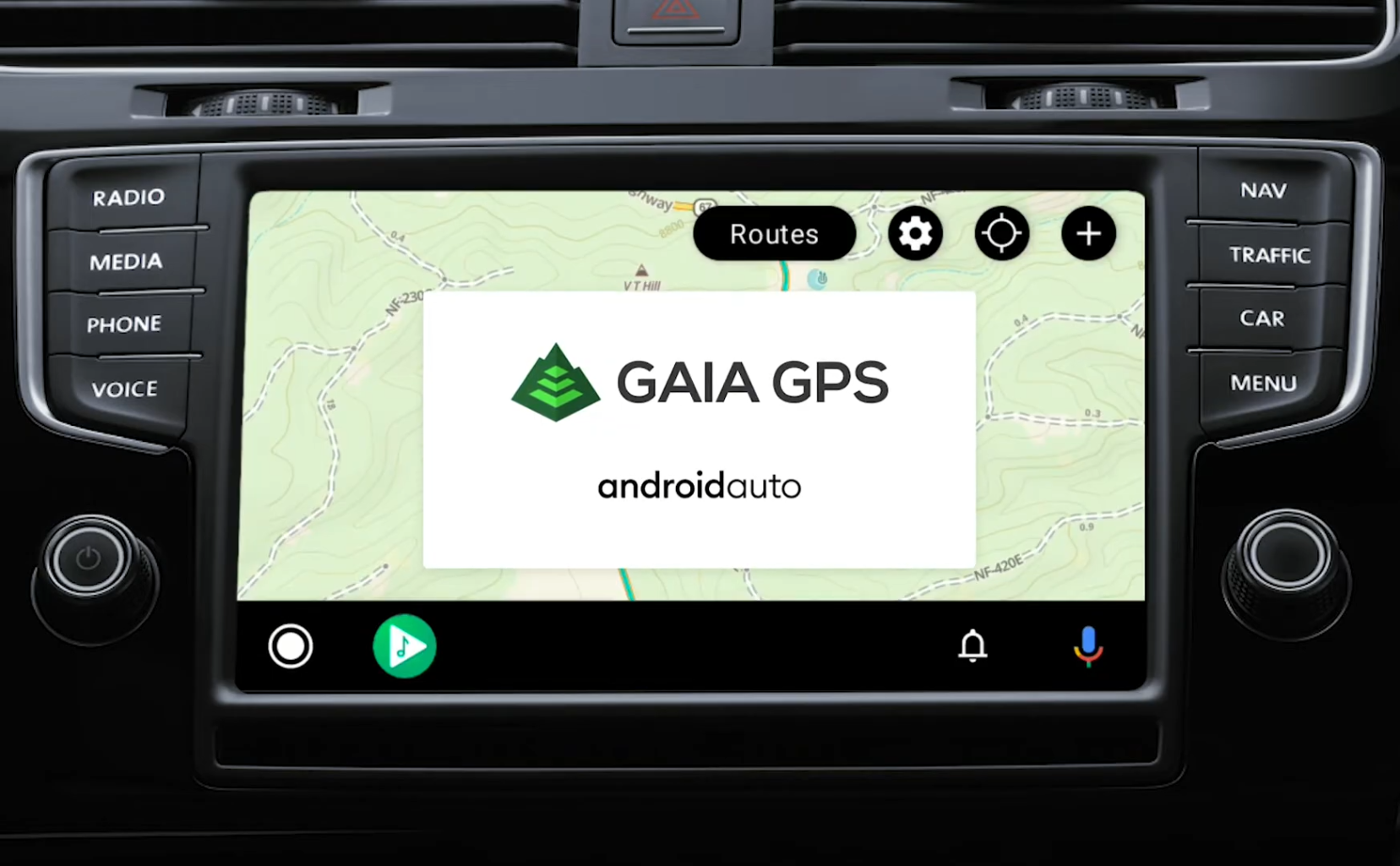 Gaia GPS off-road navigation app gains Android Auto compatibility     - Roadshow
