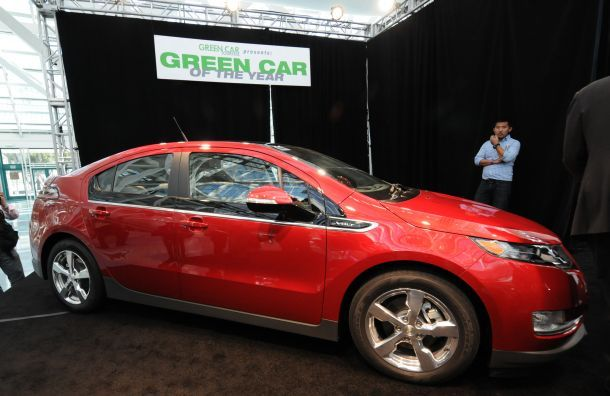 """The Volt's solution to """"range anxiety"""" helped it nab the top spot this year."""