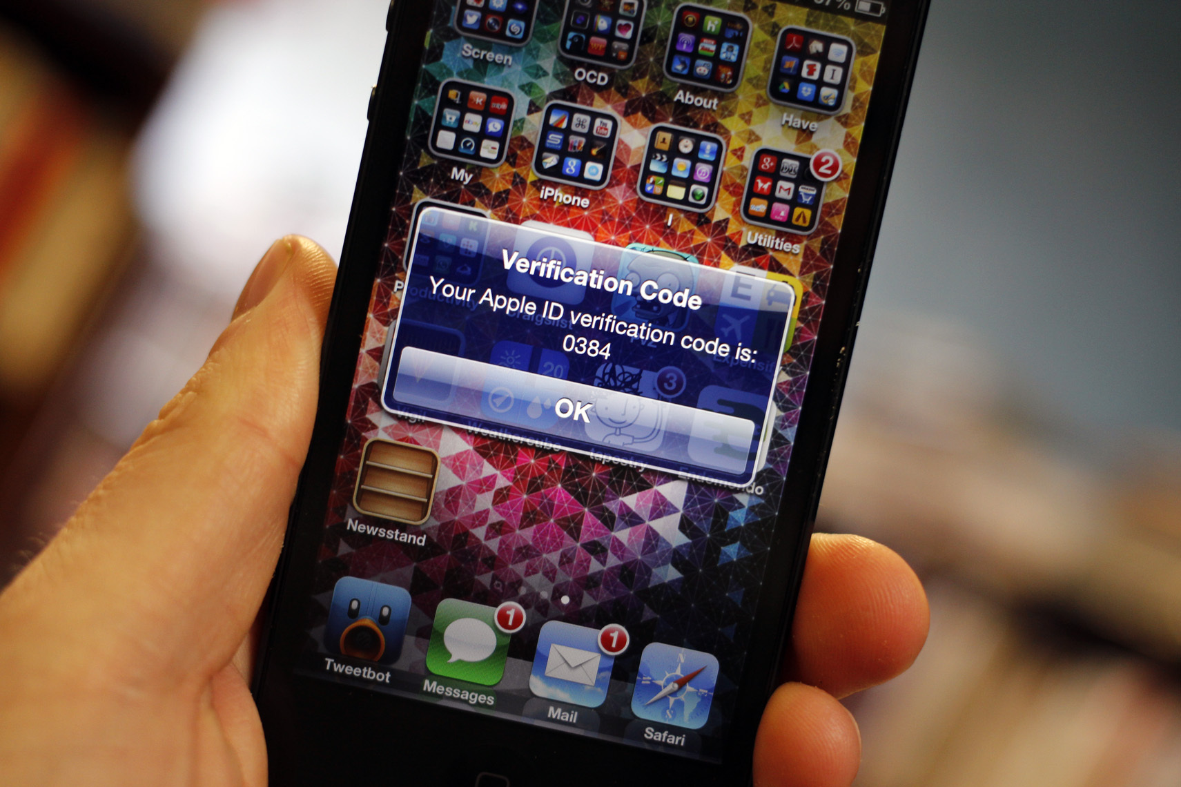 Apple's two-step verification, introduced on Thursday, reportedly stops the exploit in its tracks.