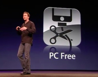 Scott Forstall talks about cutting the PC (and Mac) cord at Apple's Worldwide Developer Conference. And CEO Steve Jobs had more explicit things to say about the 'Post-PC' era.