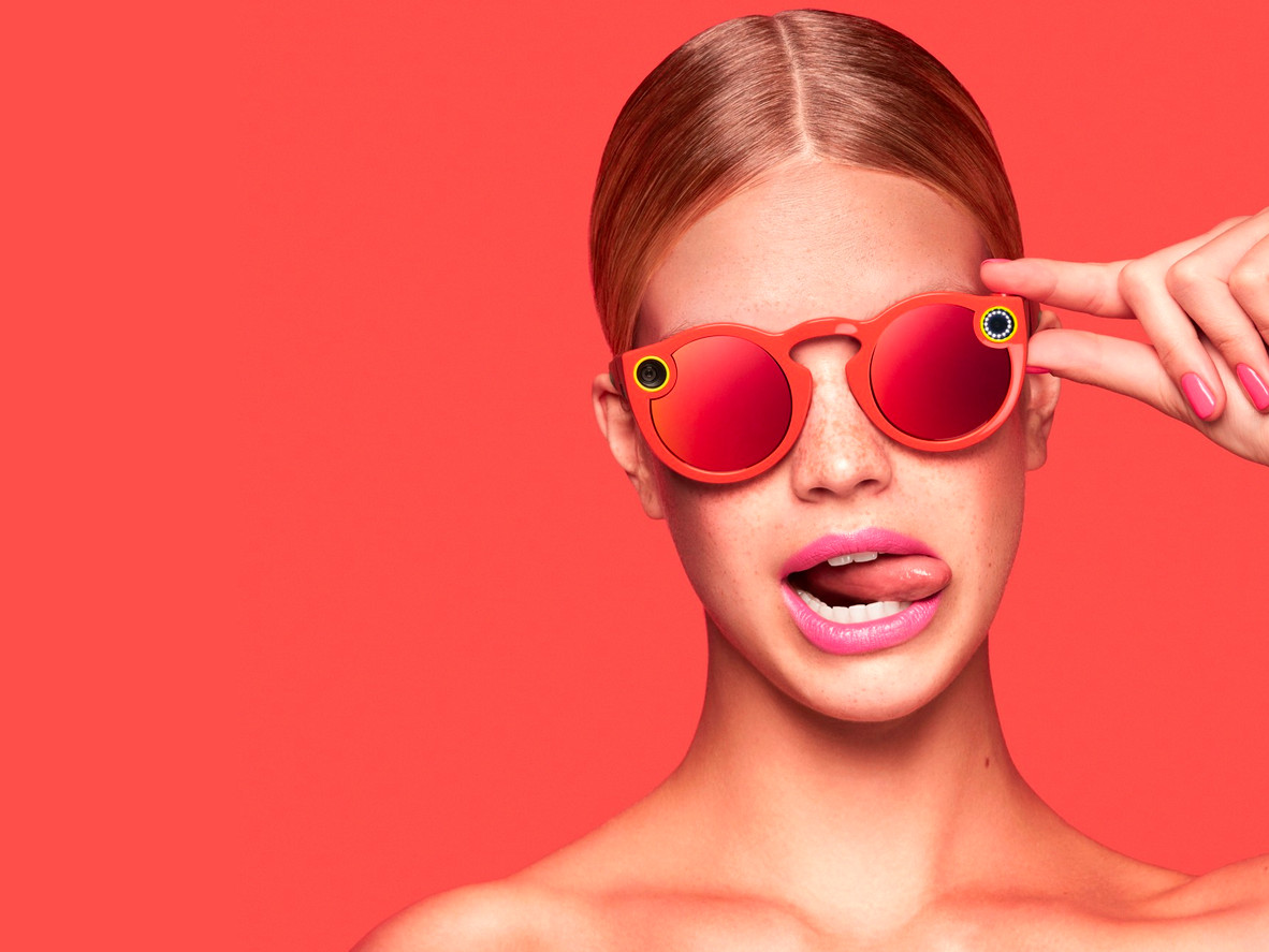 Snapchat's $130 camera-toting glasses will come in three colors: coral, teal and black.