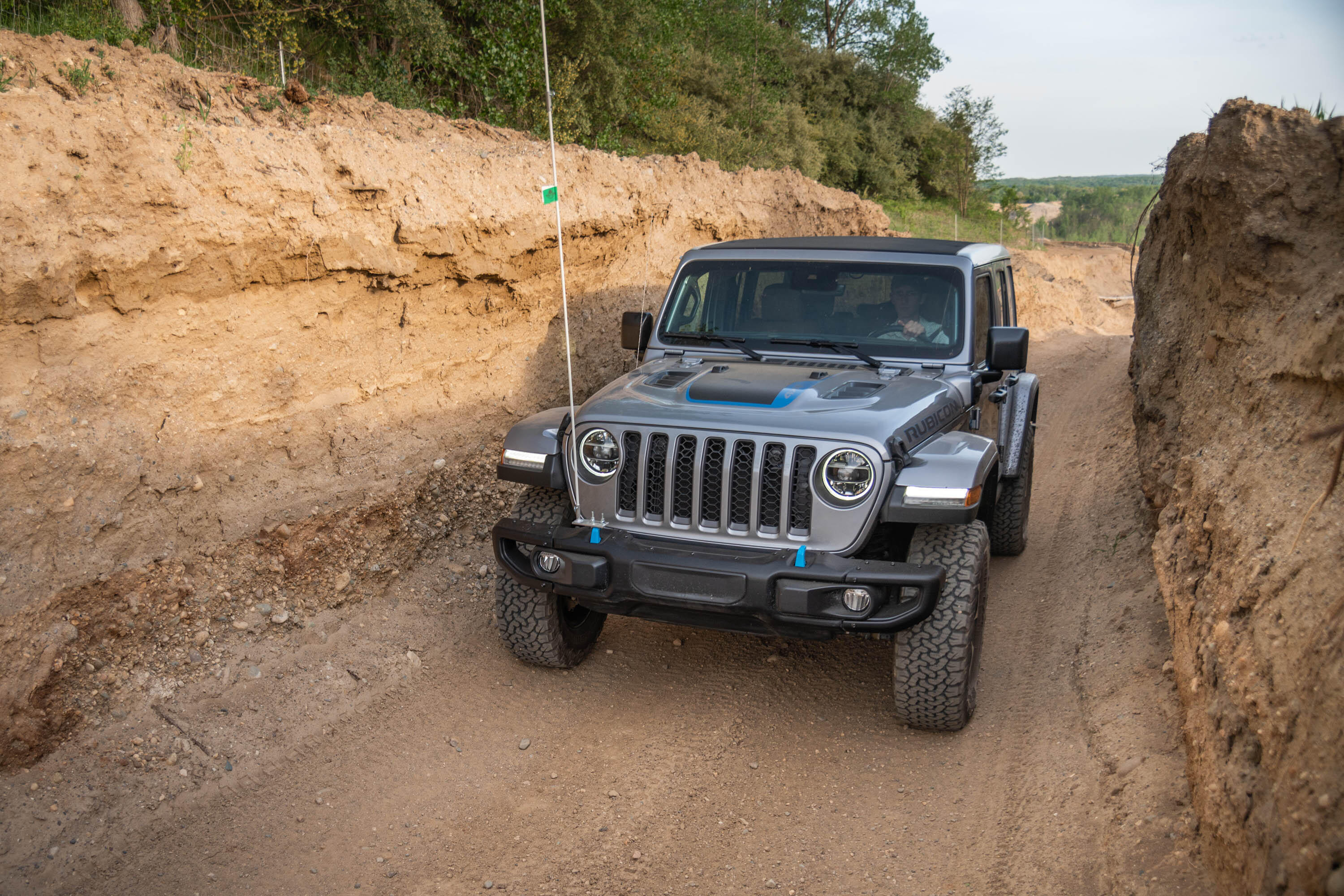 2021 Jeep Wrangler Unlimited Rubicon 4xe - off road