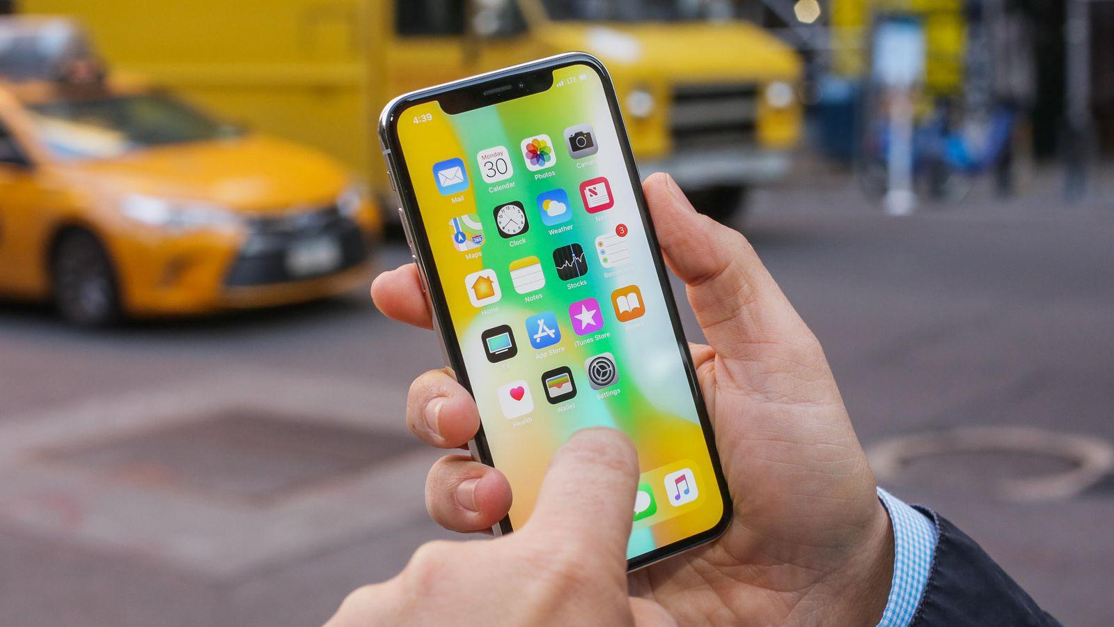 Apple says it's working on a software fix for a bug that makes some iPhone X screens unresponsive in cooler weather.